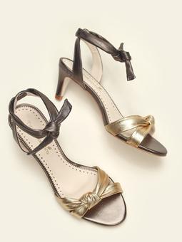 Sandália Nó Mestiço Naked Dourado