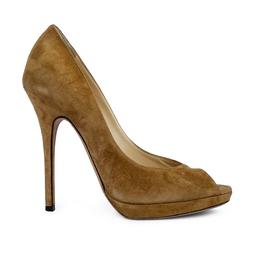 Sandalia Pep Toe Caramelo - DG15849