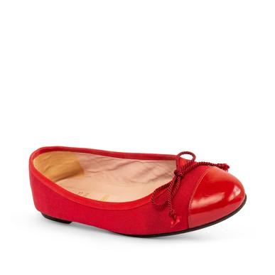 Sapatilha Vermelha Com Lacinho - DG15858 Pretty Ballerinas