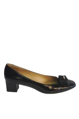 Sapato Boneca Preto Laço - DG15475