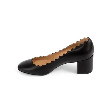 Sapato Lauren Scalloped Pump Preto Chloé