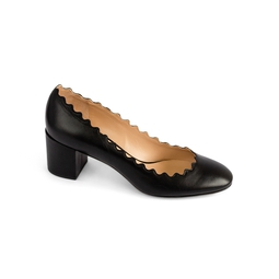 Sapato Lauren Scalloped Pump Preto