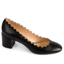 Sapato Lauren Scalloped Pump Preto