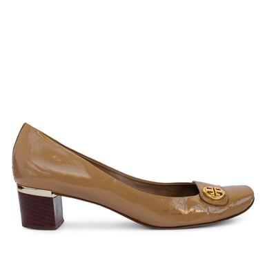 Sapato Boneca Verniz Caramelo - DG15522 Tory Burch