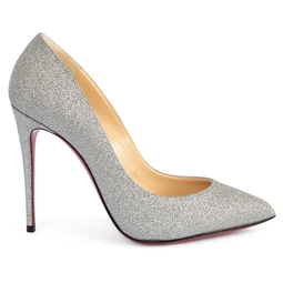 Scarpin So Kate Glitter Prata