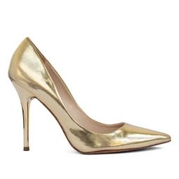 Scarpin Dourado Verniz - DG15409
