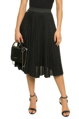 Shinny Pleats Skirt - 50L1240