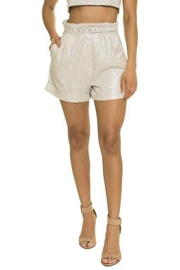 Shorts Bianca Brilho Prata - DG17365