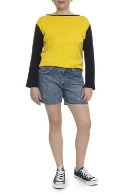 Shorts Curto  Jeans Desfiado - DG14813