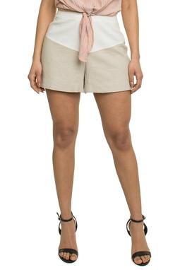 Shorts Curto Pala Off White - DG17803