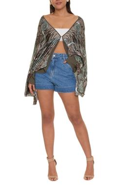 Shorts Jeans Cintura Alta - DG16617
