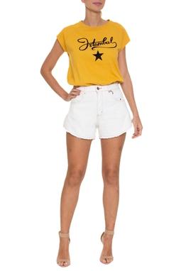 Shorts Jeans Claro Aberto - DG16618