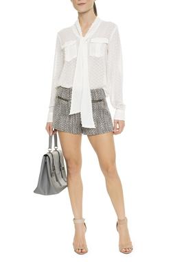 Shorts Lã Ziper - DG15843