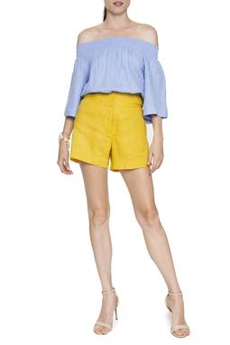 Shorts Linho Fivela Lateral - DG16056