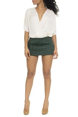 Shorts Verde Escuro Com Pala - DG15229