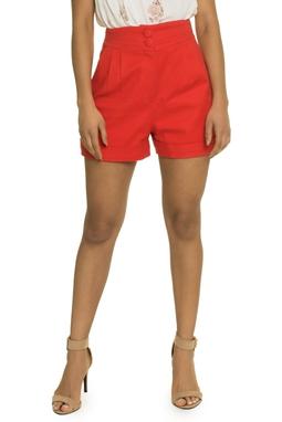 Shorts Vermelho - DG17337