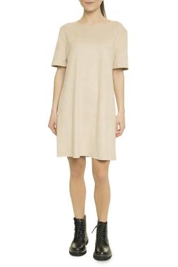 Suede T-Shirt Dress - 49N1648