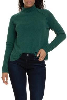 Suéter 100% Lã Verde Escuro - DG15181