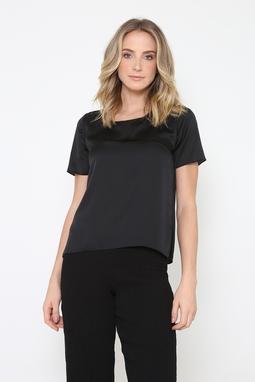 T-Shirt Basic Shine Up Preta