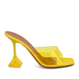 Mule Lupita PVC Amarelo