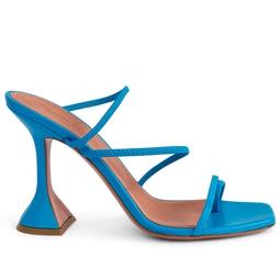 Sandália Naima Square-Toe Azul