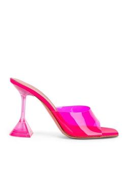 Mule Lupita PVC Pink