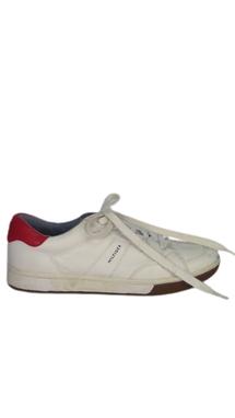Tênis Branco Detalhe Vermelho - DG15620