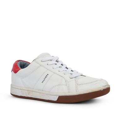 Tênis Branco Detalhe Vermelho - DG15620 Tommy Hilfiger