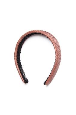 Tiara Grossa Snake Marrom