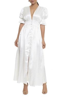 Vestido Abi Midi MC cetim - DG16995