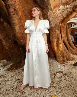 Vestido Abi Off White