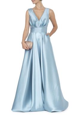 Vestido Alba Light Blue