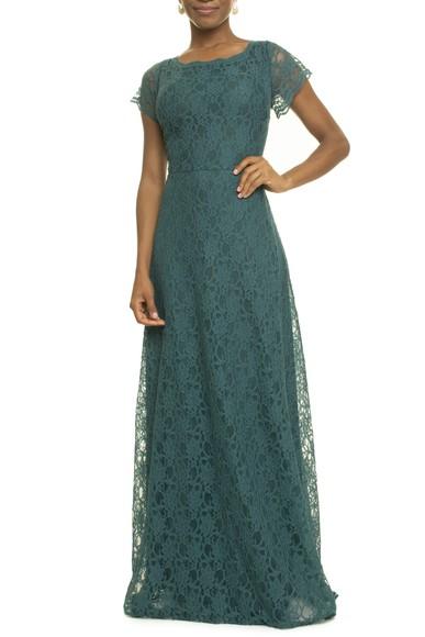 Vestido Albus Green Anamaria Couture