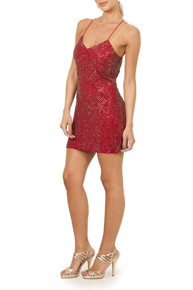 Vestido Alexa Red Iodice