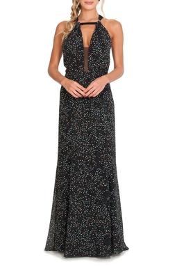 Vestido Alice Preto  - DG13858