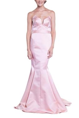 Vestido Aline Champagne CLM