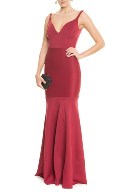 Vestido Aline Vinho - DG13417