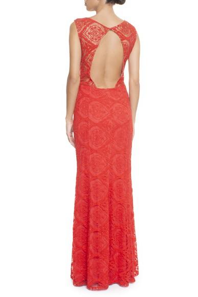 Vestido Amalfi Red Basic Collection