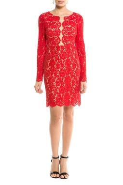 Vestido Amarilis Vermelho