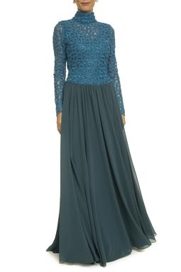 Vestido Amena Blue