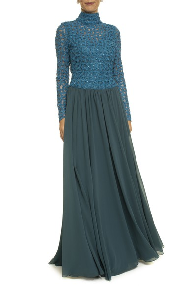 Vestido Amena Blue Kika Simonsen
