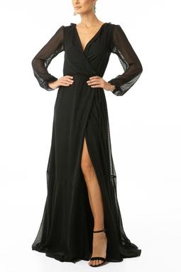 Vestido Ana Poa - DG13335