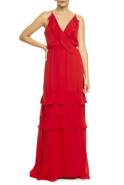 Vestido Analiz Red - DG14220