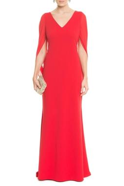 Vestido Anelise Red - DG14592
