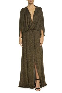 Vestido Angelinare Gold