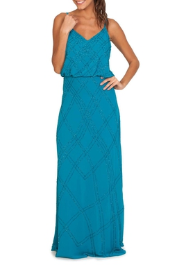 Vestido Anne Turquesa - DG14518