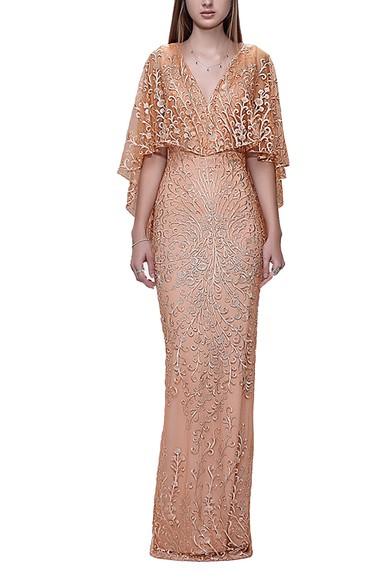 Vestido Apricot Arte Sacra