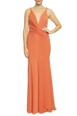 Vestido Aramago Laranja - DG14212