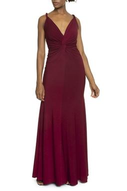 Vestido Aramago Marsala - DG14238