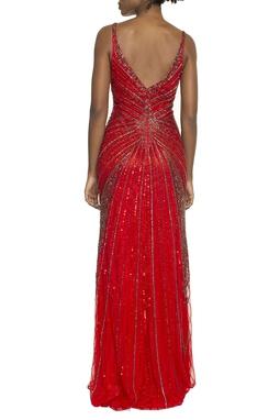 Vestido Ariadne Red